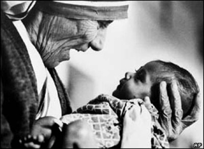 Mother Teresa… a drop in the ocean