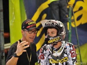 Eli Tomac (World Class Motocross Champion) and John Tomac   (Photograph obtained from DirtRider.com)